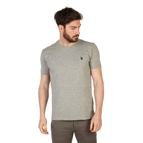 T Shirts - U.S. Polo -  Short Sleve Tshirt 2 - Grey
