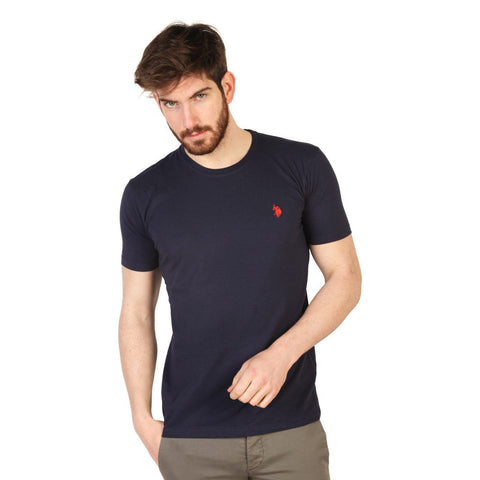 T Shirts - U.S. Polo -  Short Sleve Tshirt 2 - Navy