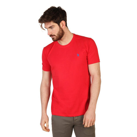 T Shirts - U.S. Polo -  Short Sleve Tshirt 2 - Red
