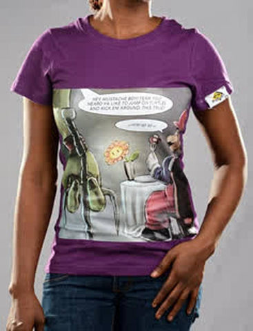 T Shirts - Ww3 Graphic T-shirt For Ladies - Bandit Urban Clothing