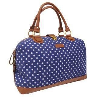 Weekend Bag - Lee Cooper Ladies Weekend Bag - Star Print