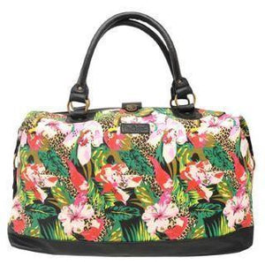 Lee Cooper Ladies Weekend Bag - Tropical Print - Ninostyle