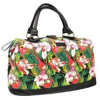 Weekend Bag - Lee Cooper Ladies Weekend Bag - Tropical Print