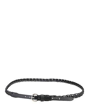 Women Belt - BONAVITA Leather Belt - Black