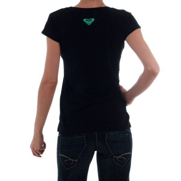 Women's T-shirts - Roxy Ladies Fitted  Tshirt - Black