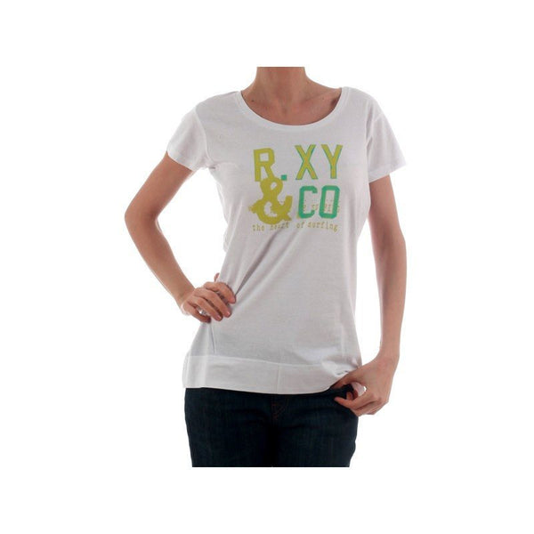 Women's T-shirts - Roxy Ladies Fitted  Tshirt - White