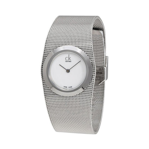 Wrist Watch - Ladies - Impulsive Steel Mesh Ladies Watch -  Calvin Klein