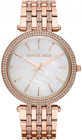 Wrist Watch - Ladies - Michael Kors MK3220 Ladies Rose Gold Darci Watch