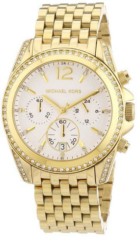 Wrist Watch - Ladies - Michael Kors MK5835 Ladies Gold Pressley Watch