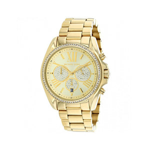 MK - Ladies Gold Bradshaw Pave Watch - Ninostyle