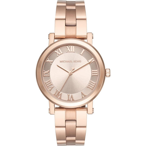 Wrist Watch - Ladies - MK - Norie Ladies Rose Gold Watch