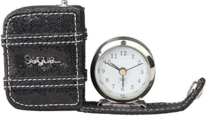 Segue - GADGET square watch - Black - with alarm - Ninostyle