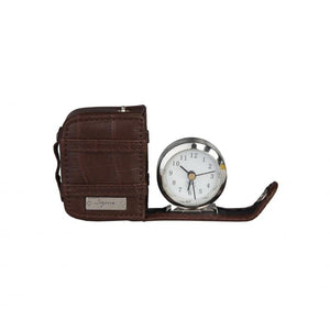 Segue - GADGET square watch - Drk.Brown - with alarm - Ninostyle