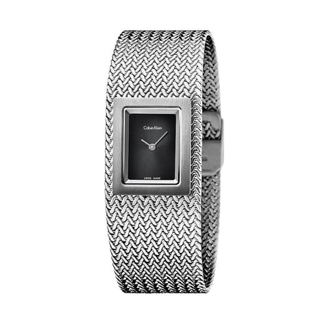 Wrist Watch - Ladies - Steel Mesh Ladies Watch -  Calvin Klein