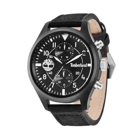 Wrist Watch - Men - Timberland Madbury Men's Quartz Watch With Black Dial