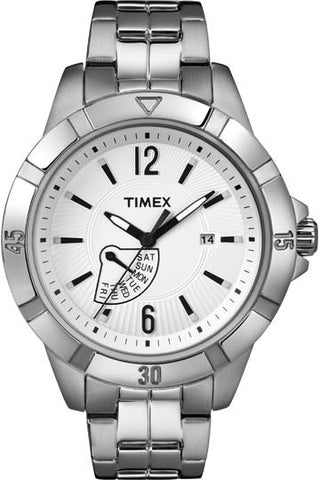 Wrist Watch - Men - TIMEX Day Date Stainless Steel - Women