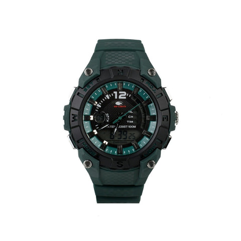 Wrist Watch - Unisex - No Limit AIKAU Analogue/Digital  Watch - Black/Green