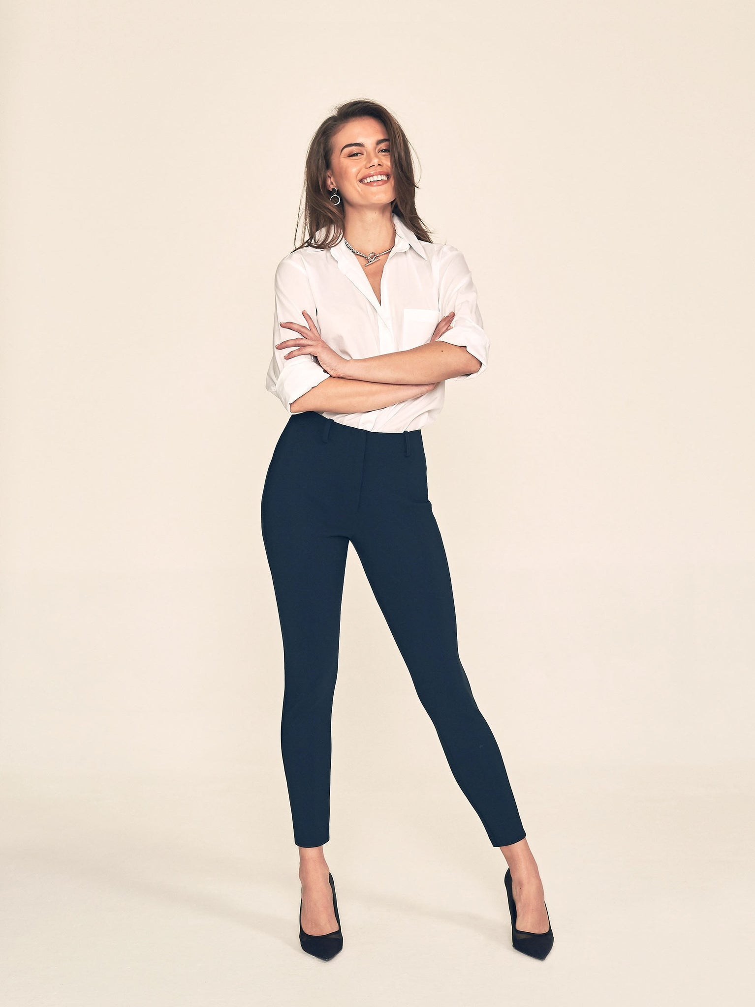 "BIANCA Skinny / 25"" Inseam / Navy / Primary"