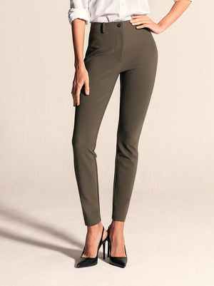 "BIANCA Skinny / 29"" Inseam / Army Green / Secondary"