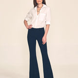 "FARRAH Flare / 34"" Inseam / Navy / Primary"