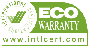 ECO Warranty label for sustainable fashion manufacturers
