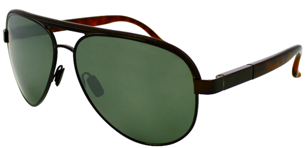 black aviator sunglasses with tortoise shell temple and mirrored lenses
