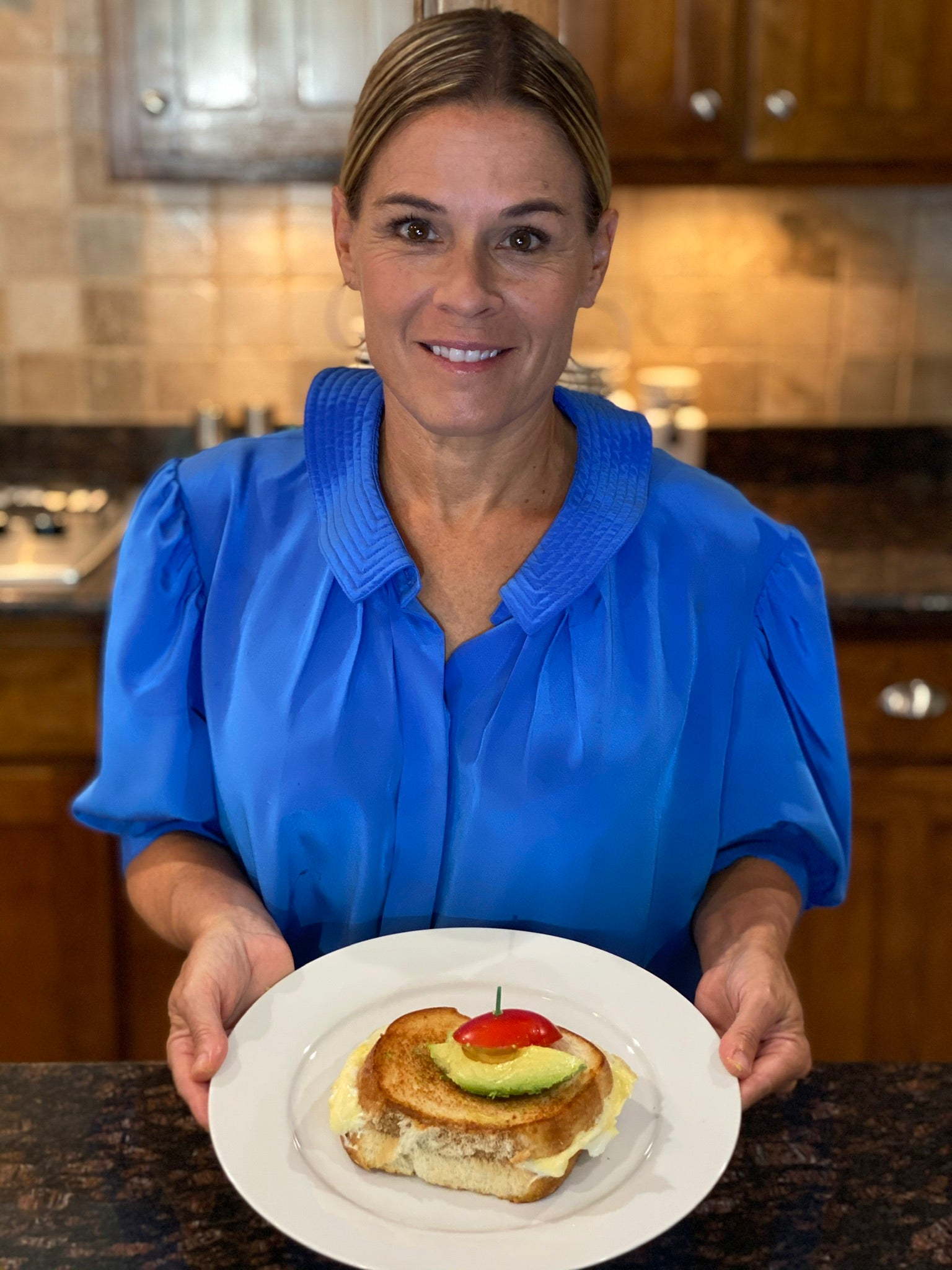 Cat Cora's Easy Egg Sandwich