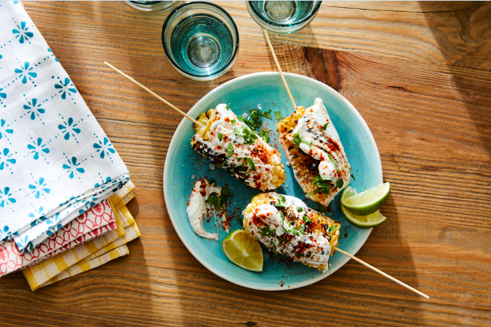 WW Grilled Street Corn by Cat Cora