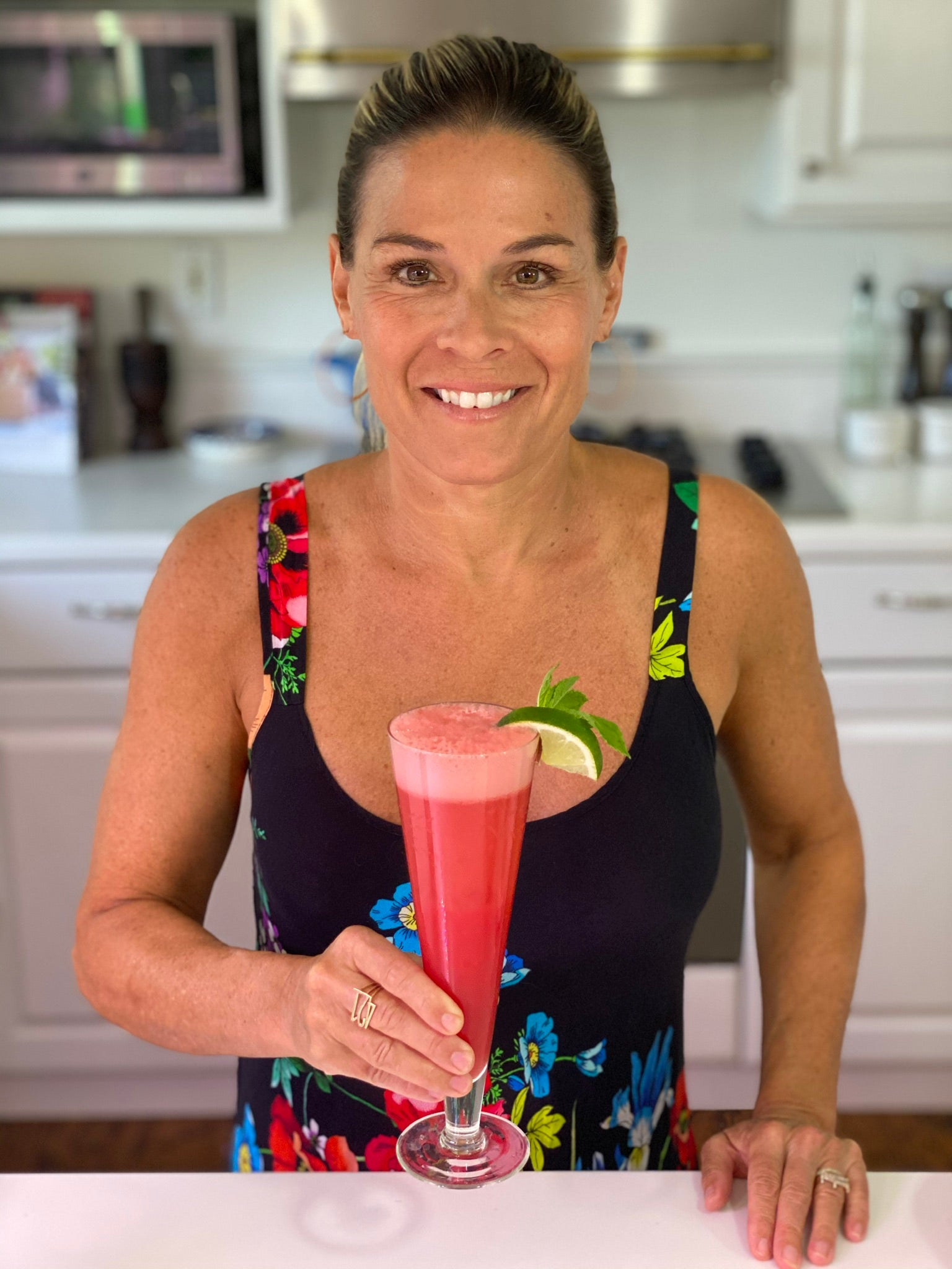 Cat Cora's Watermelon Mimosa
