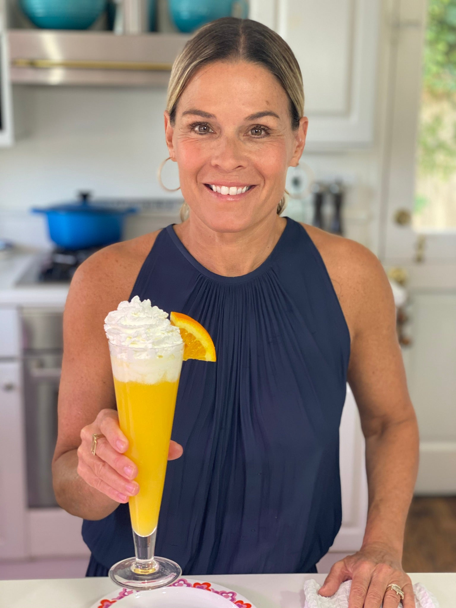 Cat Cora's Orange Dream Mimosa