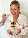 Cat Cora's Yogurt, Walnut and Fruit Parfait