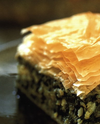 Spinach, Dill and Feta Baked in Phyllo