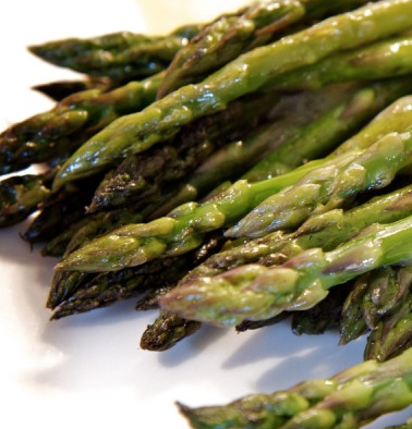 Grilled Asparagus with Tangerine Aioli