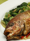 Whole Fish Roasted with Fennel & Olives