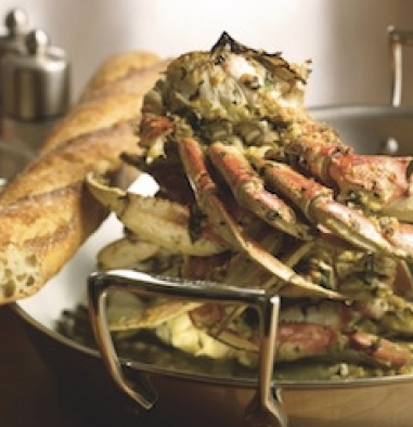 Oven-Roasted Crab Buon Natale