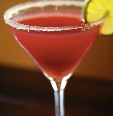 Ouzo Pomegranate Martini