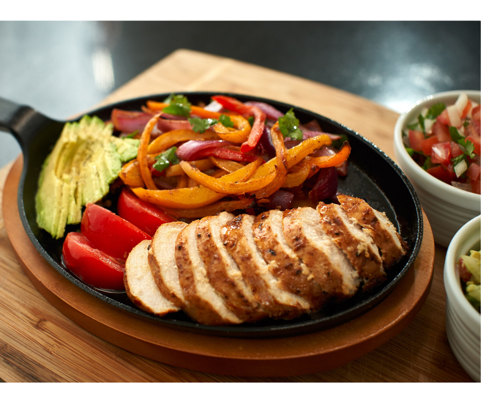 Cat Cora's Air Fryer Fajitas