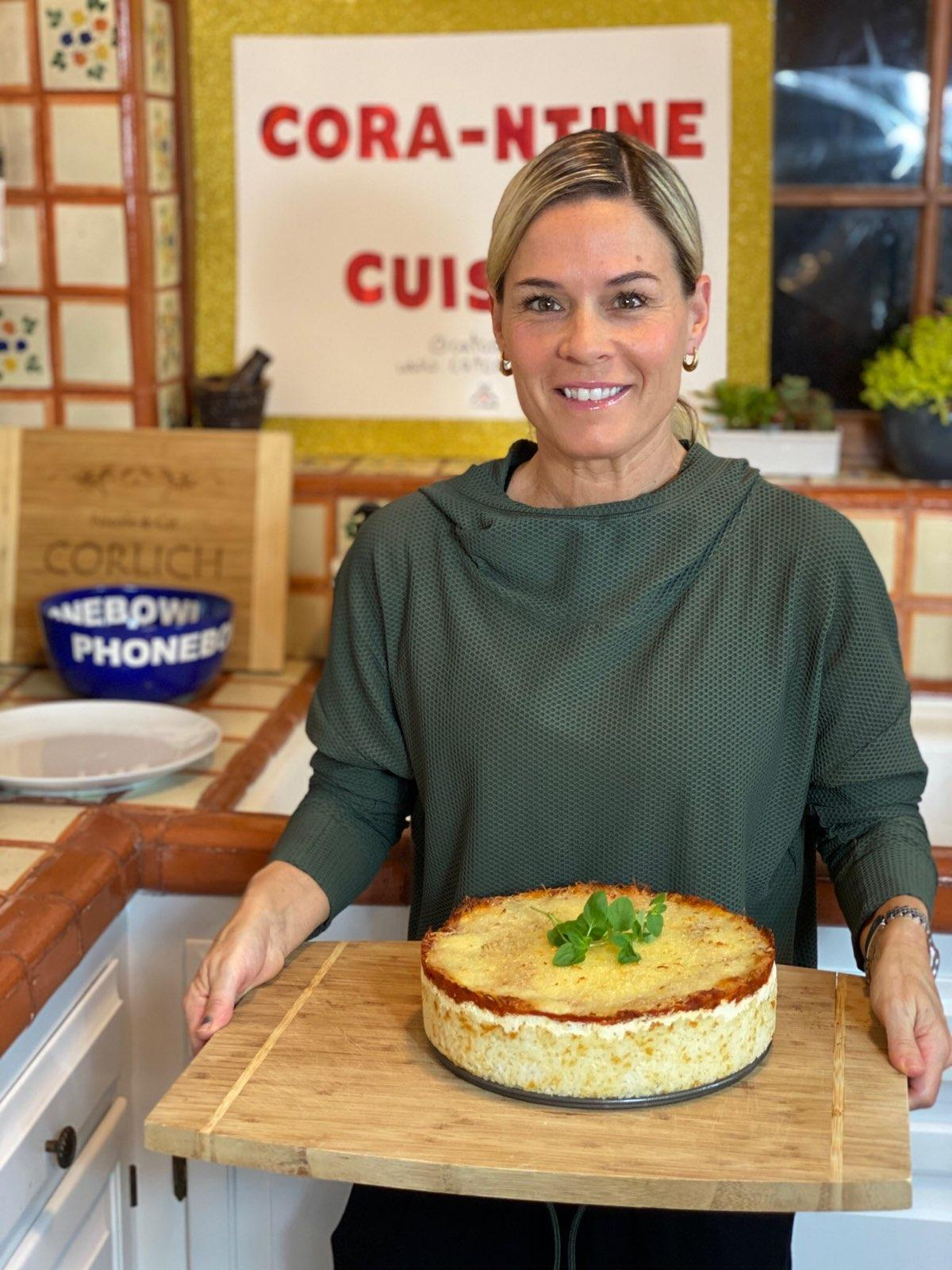 Cat Cora's Mediterranean Crispy Rice Pie