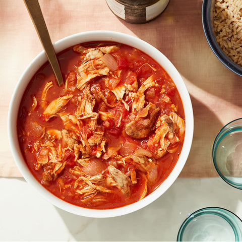 Cat Cora's WW Approved Stewed Chicken Kapama