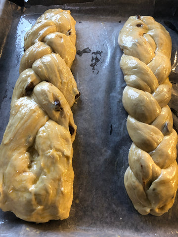 Challah Bread Dough