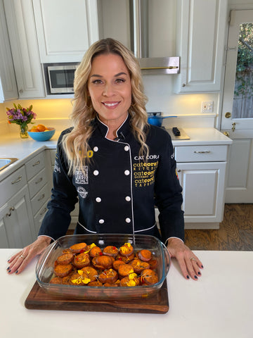 Cat Cora's Caramelized Sweet Potatoes