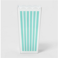 Striped Popcorn Bucket