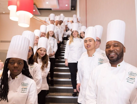 Students at Culinary Institute of America