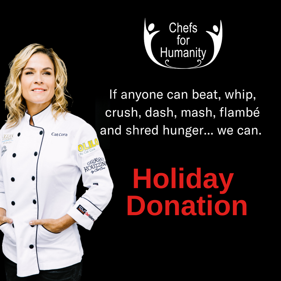 Chefs For Humanity Holiday Donation