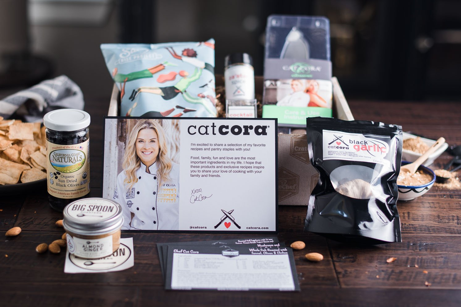 Cat Cora x CrateChef 1-Box Gift
