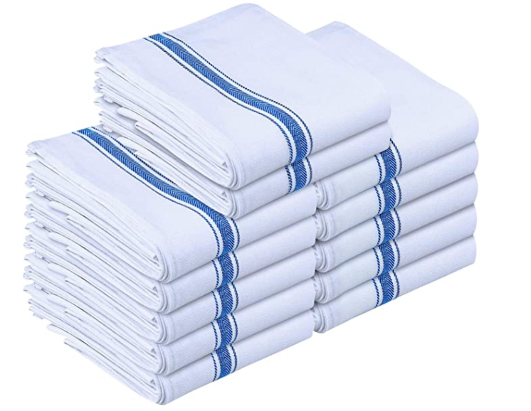 Cotton Dish Cloths, Blue