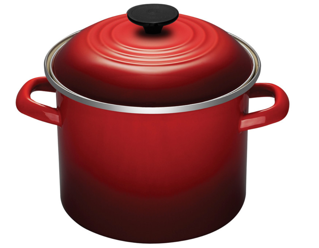 LE CREUSET Stockpot in Cerise