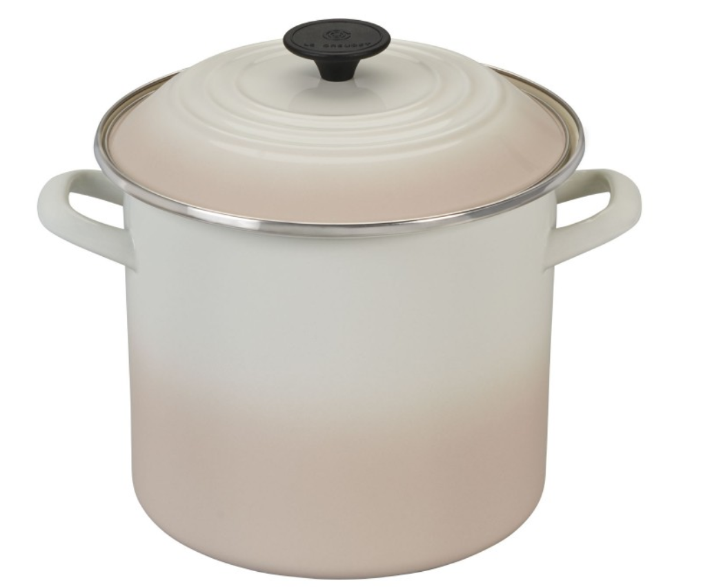 LE CREUSET Stockpot in Meringue