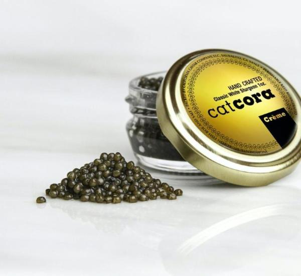 Crème White Sturgeon Caviar by Cat Cora