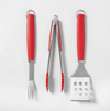 3pc Americana Grill Set Red - Sun Squad™